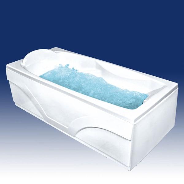 Акриловая ванна Bach Исланд 170x77 Система 1