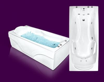 Акриловая ванна Bach Эллина 170x73 Система 5