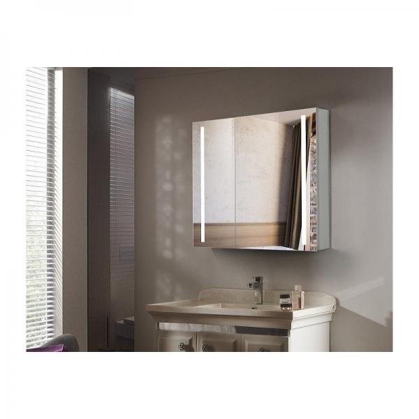 Зеркало-шкаф Esbano ES-2404 80 х 70 см с подсветкой