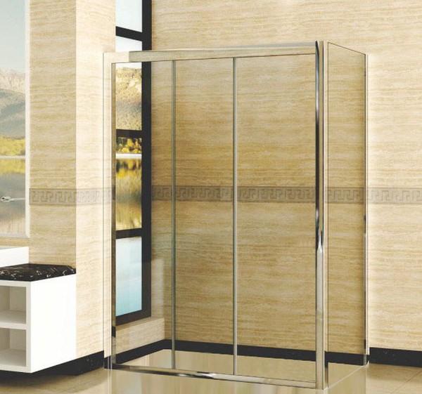 Душевой уголок RGW Classic CL-40 (1210-1260)х700 профиль хром, стекло чистое