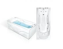 Акриловая гидромассажная ванна Bach Исланд 180x80 Система 1