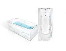 Акриловая ванна Bach Исланд 170x77 Система 5