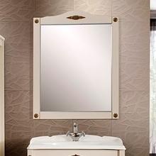 Зеркало Belux Империя 85 слоновая кость, декор Bosetti Marella