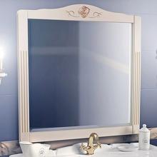 Зеркало Belux Рояль 105 слоновая кость