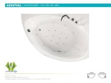 Акриловая ванна Aquatika Альтернатива 170x120 Standart без гидромассажа