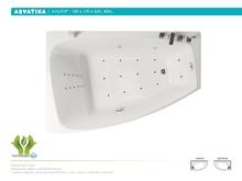 Акриловая ванна Aquatika Альтея 180x120 Standart без гидромассажа