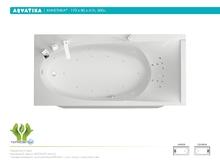 Акриловая ванна Aquatika Кинетика 170x80 Standart без гидромассажа
