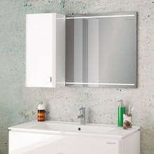 Зеркало-шкаф Edelform Nota 85 белое, с подсветкой