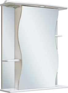 Зеркало-шкаф Runo Лилия 55