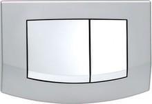 Кнопка смыва TECE Ambia 9240253 матовый хром, кнопка хром