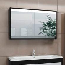 Зеркало-шкаф Edelform Constante 100 с подсветкой венге с белым
