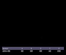 Душевой уголок Alex Baitler АВ 144-B90 90х90 профиль черный, стекло тонированное