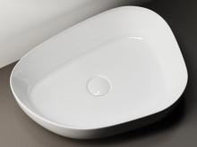 Раковина накладная Ceramica Nova Element CN5003 55х40 см, белый