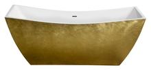 Акриловая ванна Lagard Issa Treasure Gold