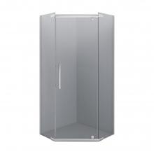 Душевой уголок пятиугольный Erlit Comfort ER10109V-C4 90х90 тонированное стекло