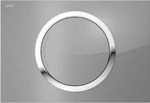 Кнопка смыва Mepa Zero 421856 серебристое стекло