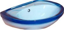 Раковина Rosa Лира синяя