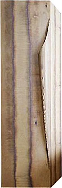 Шкаф-пенал Clarberg Папирус Вуд светлое дерево