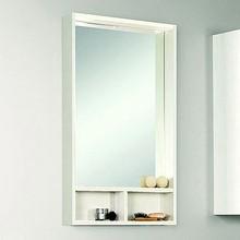 Зеркало Акватон Йорк 50 белый/выбеленное дерево