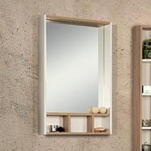 Зеркало Акватон Йорк 60 белый/дуб сонома