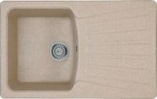 Мойка кухонная Whinstone Веста 1B 1D бежевый