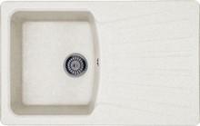 Мойка кухонная Whinstone Веста 1B 1D белый