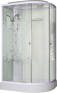 Душевая кабина Niagara NG-303-01L 120х80х220 мозаика
