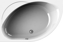 Акриловая ванна Radomir Мелани 140x95 без гидромассажа, левая
