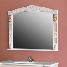 Зеркало Атолл Александрия 100 dorato