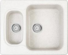 Мойка кухонная Whinstone Гарда 1 1/2B белый