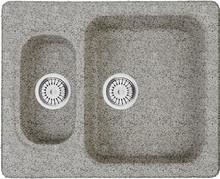 Мойка кухонная Whinstone Гарда 1 1/2B серый