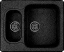 Мойка кухонная Whinstone Гарда 1 1/2B черный