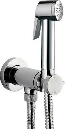 Гигиенический душ Bossini Paloma Flat Mixer Set E37011B со смесителем, хром