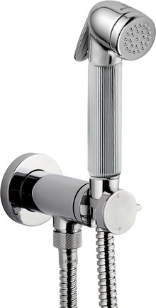Гигиенический душ Bossini Nikita Mixer Set E37008B со смесителем, хром
