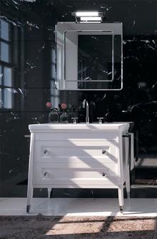 Мебель для ванной Inova Canova Royal 90 белая глянцевая