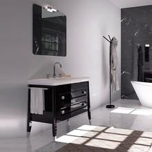 Мебель для ванной Inova Canova Royal 90 черная глянцевая