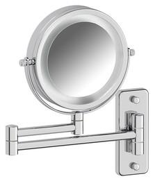Косметическое зеркало Defesto Pro DEF 102 с подсветкой, двустороннее