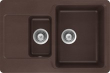 Мойка кухонная Schock Cambridge 60D мокка