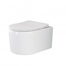 Унитаз подвесной Ceramica Nova Moments CN3003 с микролифтом, безободковый