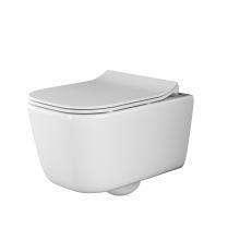 Унитаз подвесной Ceramica Nova New Day CN3005 с микролифтом, безободковый