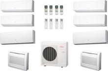 Мультисплит-система Fujitsu Inverter AOYG45LBT8 8 каналов