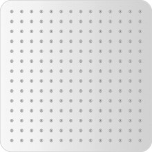 Верхний душ Gllon SUB12CP 30 см
