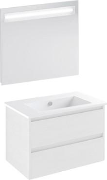 Мебель для ванной Inova Star logic 80 белый глянец