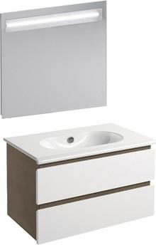 Мебель для ванной Inova Sfera 80 дуб табачный
