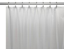 Штора для ванной Carnation Home Fashions Premium 4 Gauge White защитная