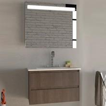 Мебель для ванной Inova Star logic 80 транше темный