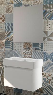 Мебель для ванной Inova Premium 60 белая глянцевая