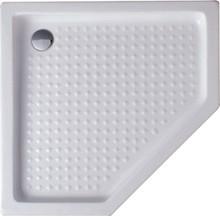 Поддон для душа Alex Baitler 100V 100 × 100 см пятиугольный, акриловый