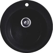 Мойка кухонная Whinstone Арго 1B черный металлик