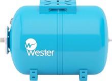 Расширительный бак водоснабжения Wester WAO 100 горизонтальный